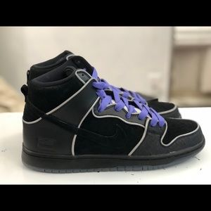 Nike SB Dunk High Elite Purple